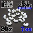 GSW Plasticard Pipe Elbows 7mm 02