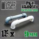 GSW Plasticard Pipe Elbows 9mm 01