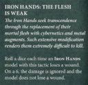 Games Workshop Warhammer 40.000 Codex Space Marine Preview Iron Hands 2