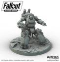 ME Modiphius Fallout Sentry Bot