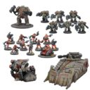 MG Mantic Warpath Forge Father Reserve Force