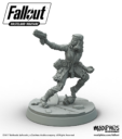 Modiphius Fallout Miniature Game Piper Render