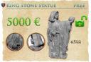 NM King Stone Statue