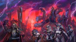TW Total War Dunkelelfen