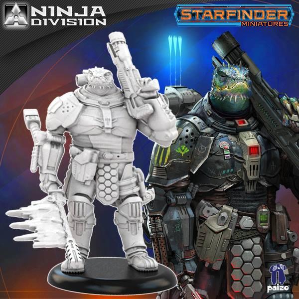 Ninja Division Starfinder Miniaturen Br 252 Ckenkopf Online