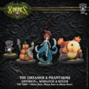 Privateer Press Hordes The Dreamer & Phantasms Grymkin Warlock & Grymkin Solos 1