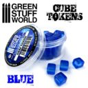 GSW Blue Cube Tokens