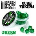 GSW Green Cube Tokens
