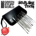GSW Professional Hobby Sculpting Tools Wax Carver 01