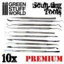 GSW Professional Hobby Sculpting Tools Wax Carver 02