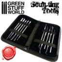 GSW Professional Hobby Sculpting Tools Wax Carver 03