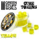 GSW Yellow Cube Tokens