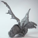 MG Kings Of War Revenant Undead Wyrm 4