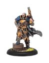 PiP Warmachine Trencher Commando Officer