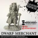 Unreleased Miniatures Dwarf Merchant 01