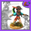 BSG Bad Squiddo Games Pirate Queen Iguana 1