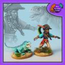 BSG Bad Squiddo Games Pirate Queen Iguana 3