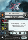 FFG Fantasy Flight Games X Wing Alpha Class Star Wing 10