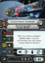 FFG Fantasy Flight Games X Wing Alpha Class Star Wing 11