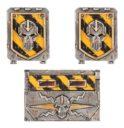 Forge World Warhammer 40.000 IRON WARRIORS RHINO DOORS AND FRONTPLATE 1