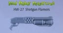 MRM Mad Robot Miniatures Strickmützen Flamer Shotguns Previews 1