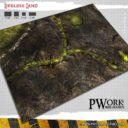 PWork Wargames Wargames Terrain Mat Lifeless Land 1