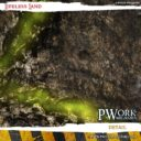 PWork Wargames Wargames Terrain Mat Lifeless Land 2