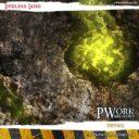 PWork Wargames Wargames Terrain Mat Lifeless Land 4