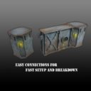 DRD Death Ray Designs Deadbolts Derelict Corridors 3