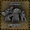 PW Puppets War Pilot Helmets 3
