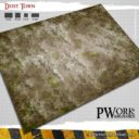 PWork Wargames Dust City Gaming Mat 1