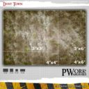 PWork Wargames Dust City Gaming Mat 2