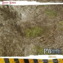 PWork Wargames Dust City Gaming Mat 3