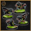 Willy Miniatures Ratten Team 02