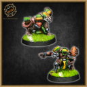Willy Miniatures Ratten Team 04