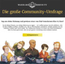 GW Games Workshop Community Umfrage 2017 3