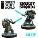 Green Stuff World BLUE Energy Swords Size M 2