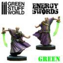 Green Stuff World GREEN Energy Swords Size M 2