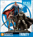 Knight Models Batman Miniature BATMAN V SUPERMAN (TRINITY)