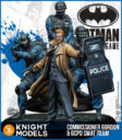 Knight Models Batman Miniature Game COMMISSIONER GORDON & GCPD SWAT TEAM
