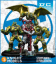 Knight Models Batman Miniature STEPPENWOLF & PARADEMONS