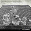 Kromlech Orc Greatcoat Banner Bearer 8