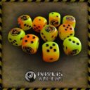 Puppets War ORANGE DICE SET (LIMITED EDITION)