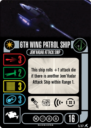 WizKids Star Trek Attack Wing Romulan Faction Pack 43