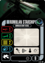 WizKids Star Trek Attack Wing Romulan Faction Pack 6