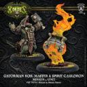 PiP Hordes Gatorman Boil Master & Spirit Cauldron
