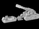 Vanguard Miniatures Heavy Artillery Limbers 1