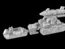 Vanguard Miniatures Heavy Artillery Limbers 2