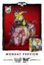 Wyrd Games Bayou Bash Pig Rider