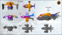 AWI Antenocitis Workshop Designed For Infinity Efreet Dropship Kickstarter 10